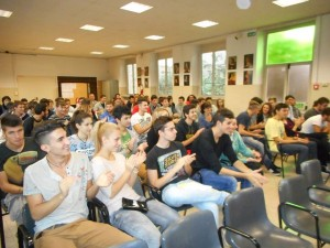 Students of Parma Agriculture School.
